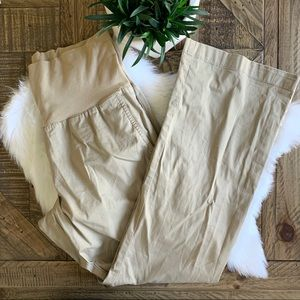 LOFT Maternity Tan Khaki Pants